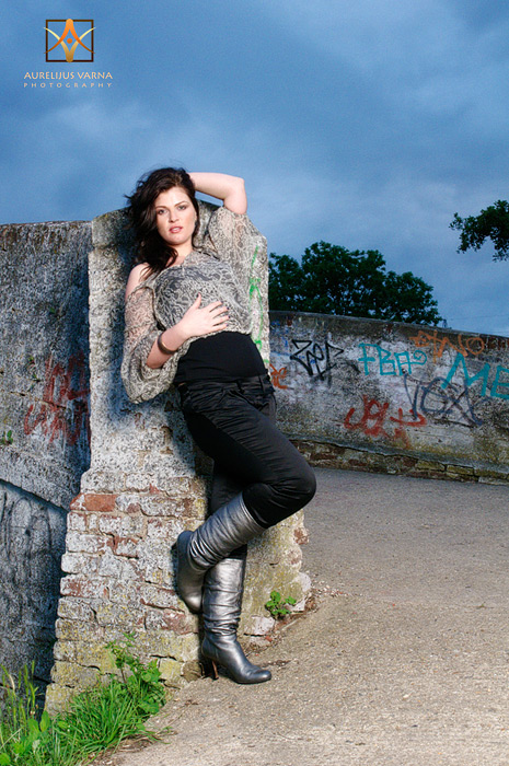 London model portfolio by fashion photographer Aurelijus Varna