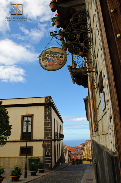 La Orotava, architecture of Tenerife