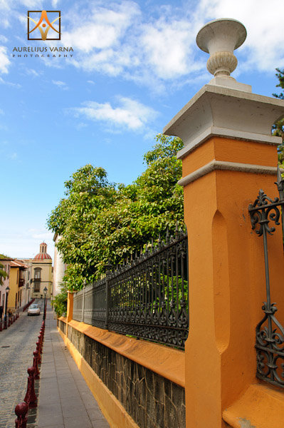 Streets of La Orotava, architecture of Tenerife