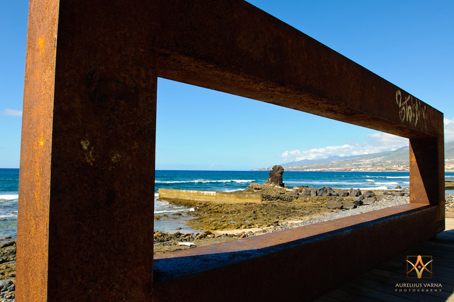 playa of Americas, beach, architecture of Tenerife