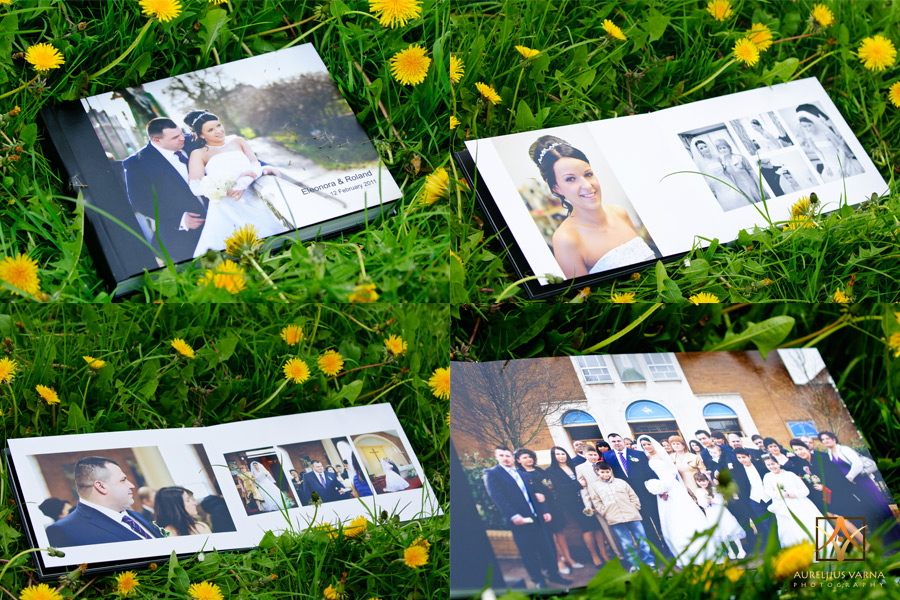 wedding photography London contemporary wedding albums
