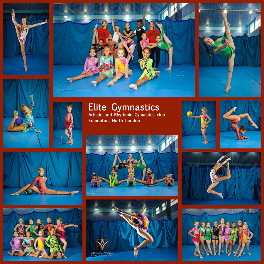 artistic and rhythmic gymnastics club for children in London