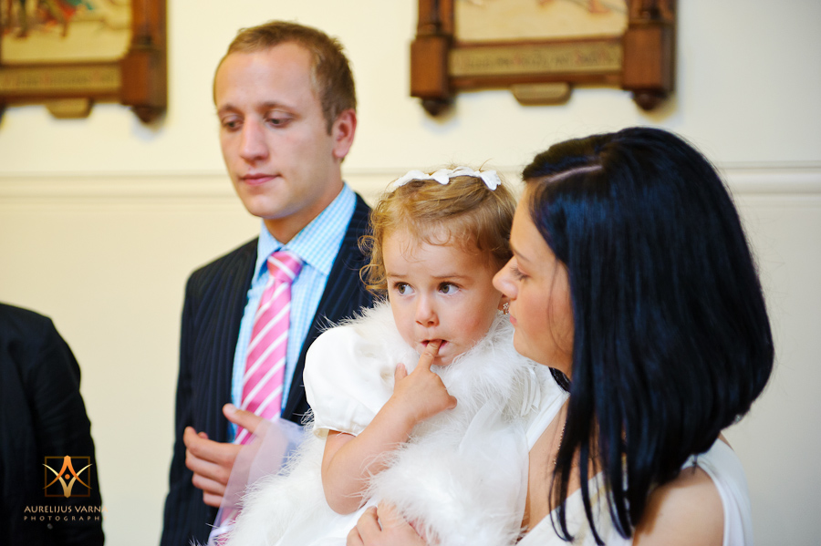 Contemporary christening photographer in London
