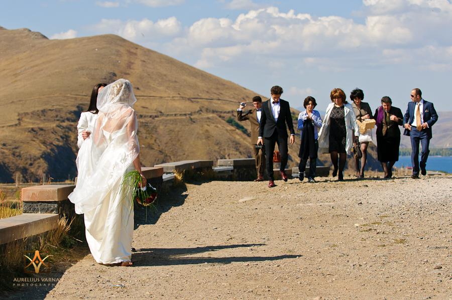 Destination wedding photography Armenia, Lake Sevan