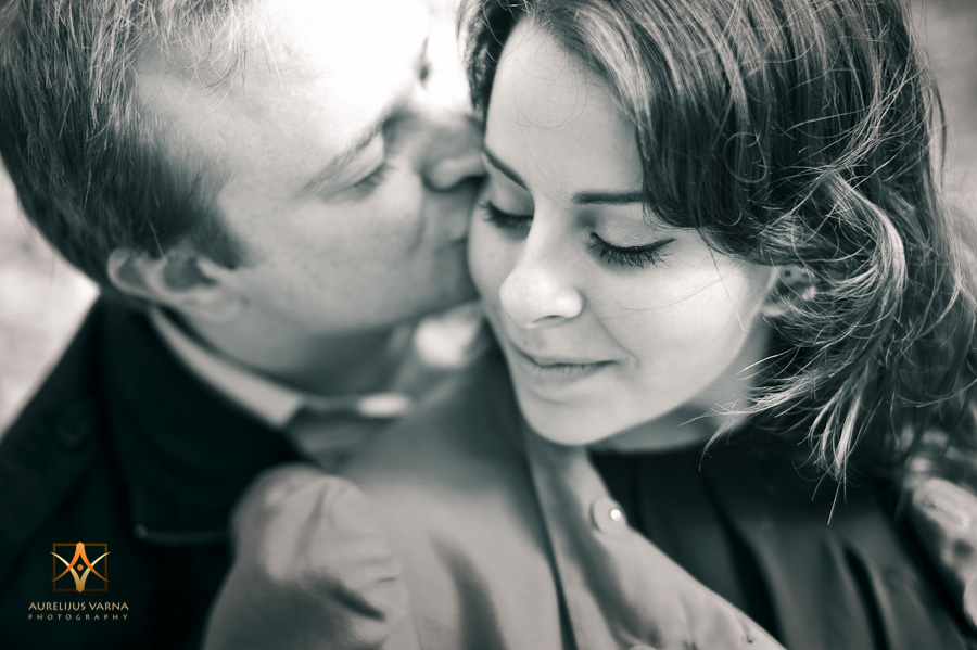 Contemporary engagement photography in England