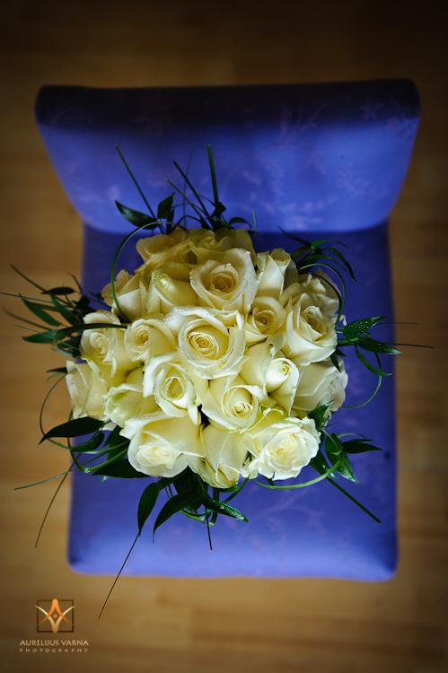 bride's flowers in Northampton